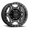501 Legend II Satin Black with Milled Accents and Satin Black X-lok Lip Satin Clear-Coat