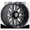 XD820 Grenade Satin Black w/ Milling