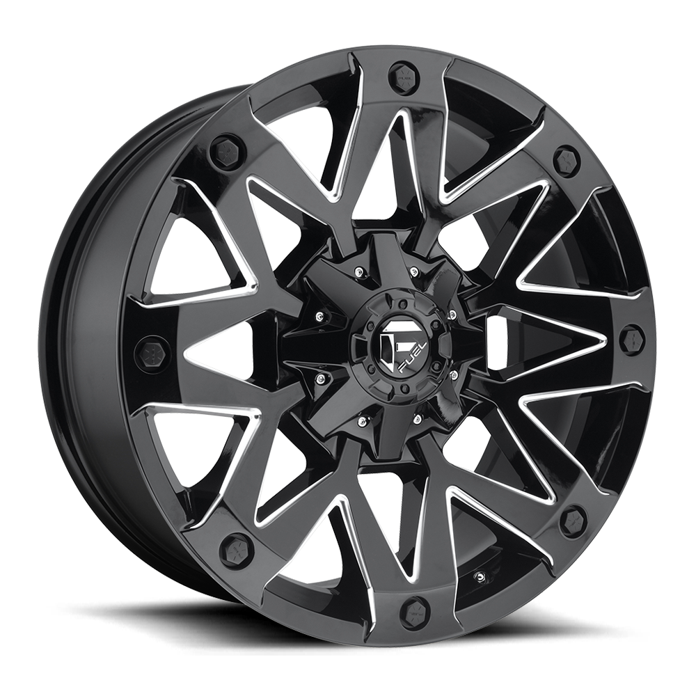 Fuel 1-Piece Wheels Ambush - D555