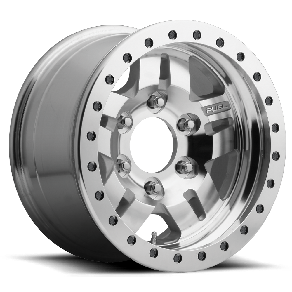 Fuel 1-Piece Wheels Anza Beadlock - D116