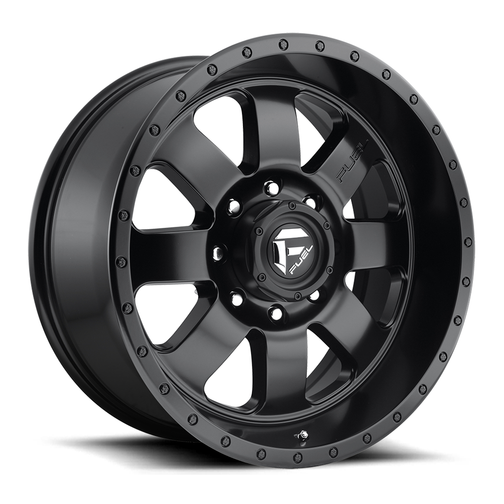 Fuel 1-Piece Wheels Baja - D626