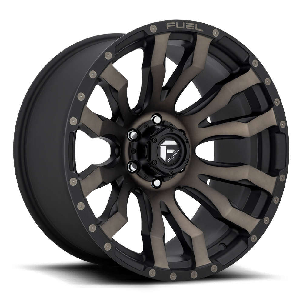 Fuel 1-Piece Wheels Blitz - D674