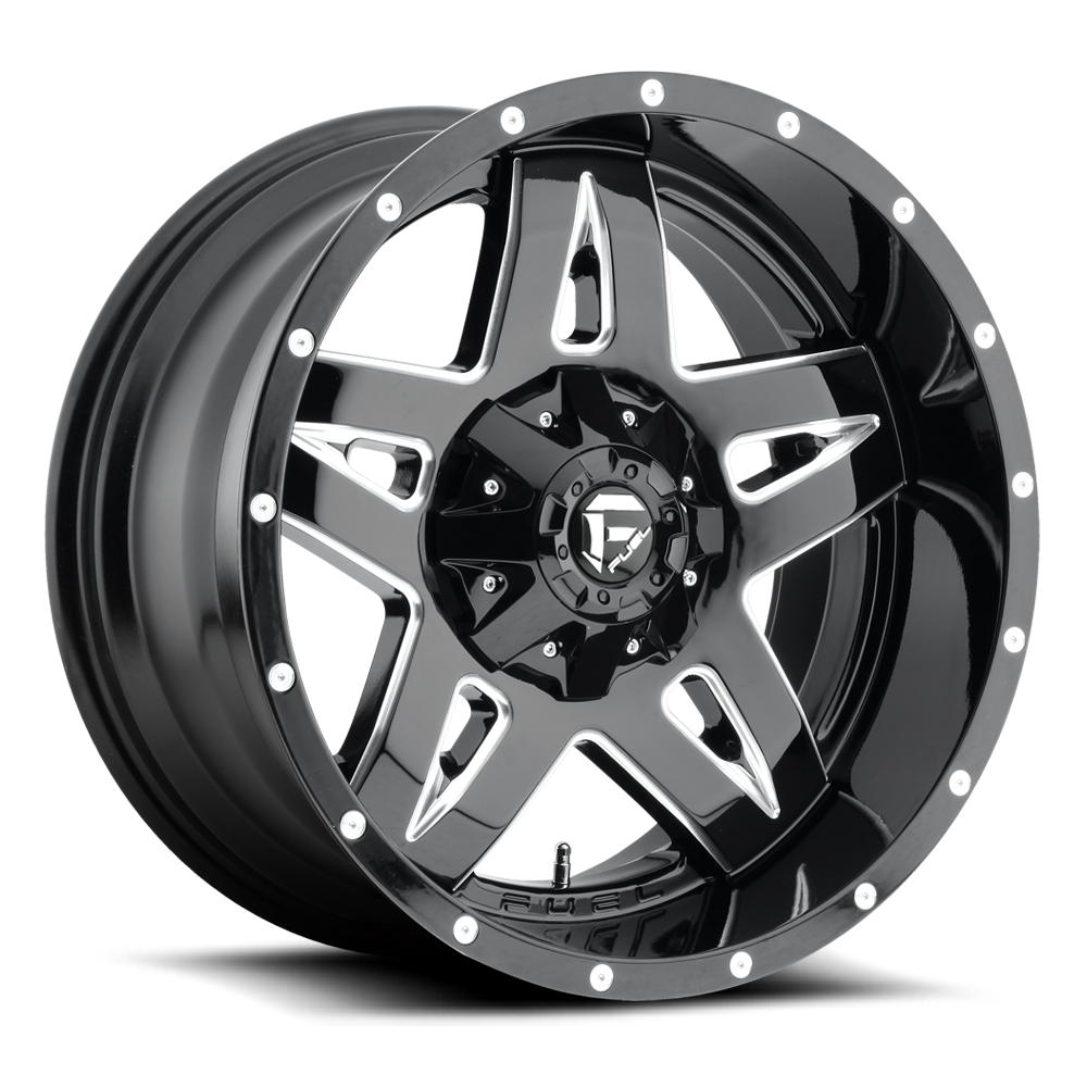 Fuel 1-Piece Wheels Full Blown - D554