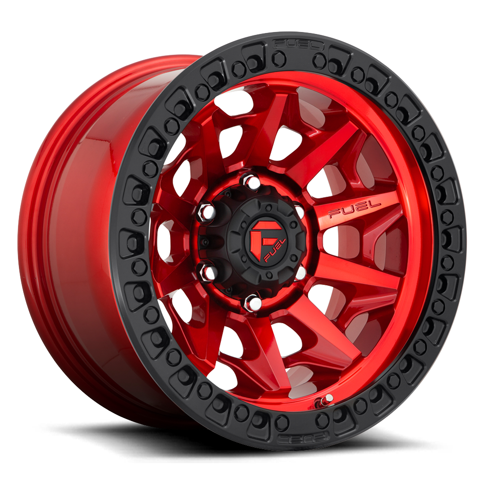 Fuel 1-Piece Wheels Covert - D695