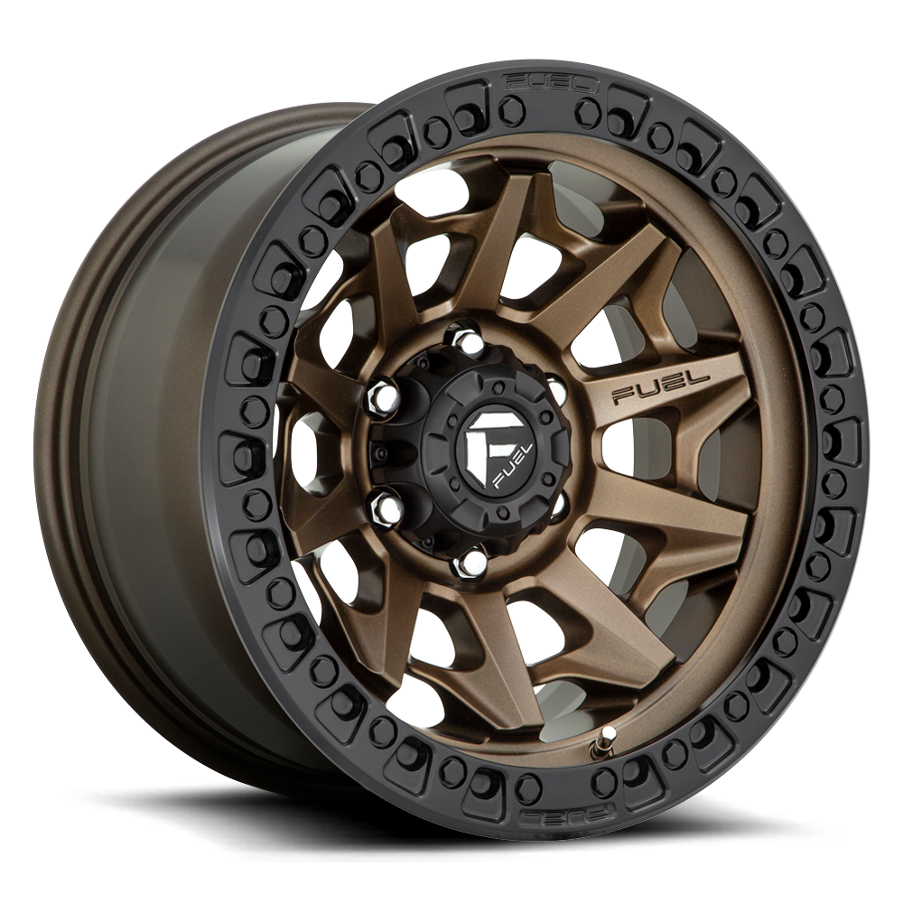 Fuel 1-Piece Wheels Covert - D696