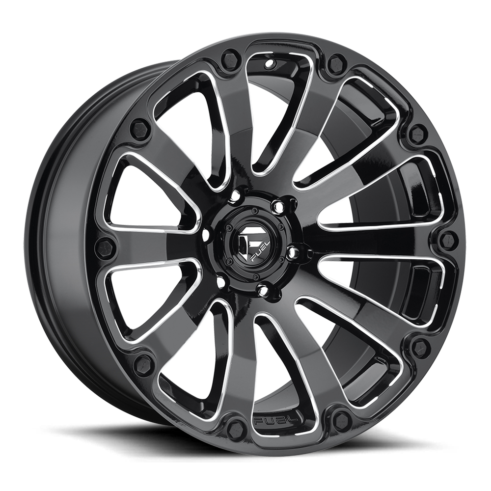 Fuel 1-Piece Wheels Diesel - D598