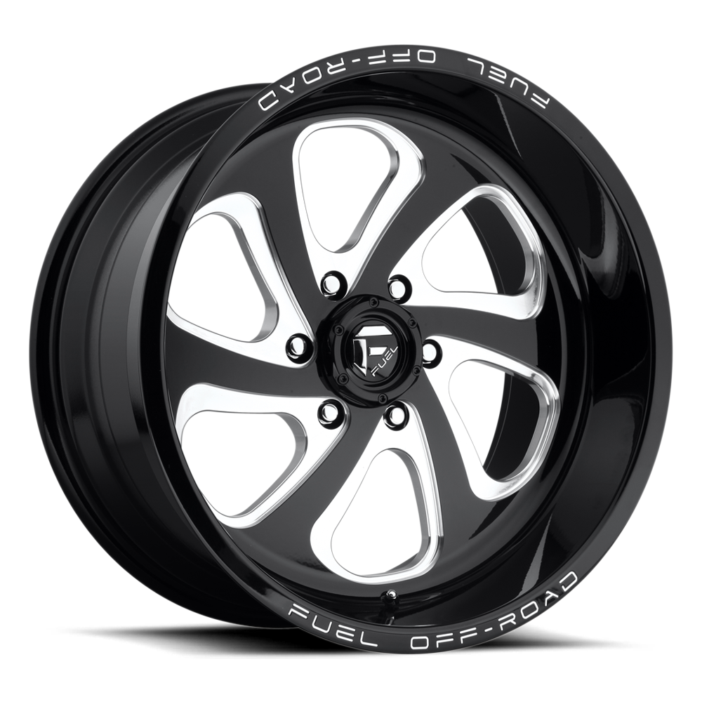 Fuel 1-Piece Wheels Flow 6 - D587