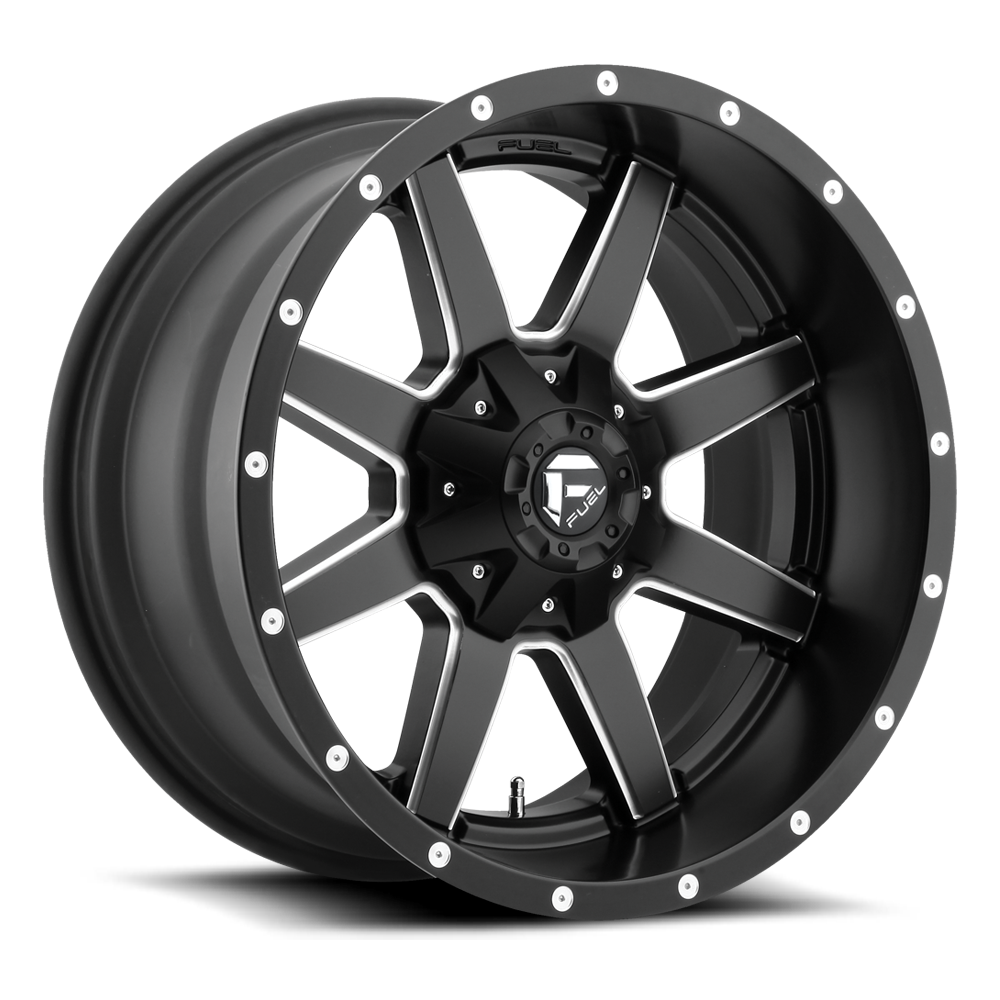 Fuel 1-Piece Wheels Maverick - D538