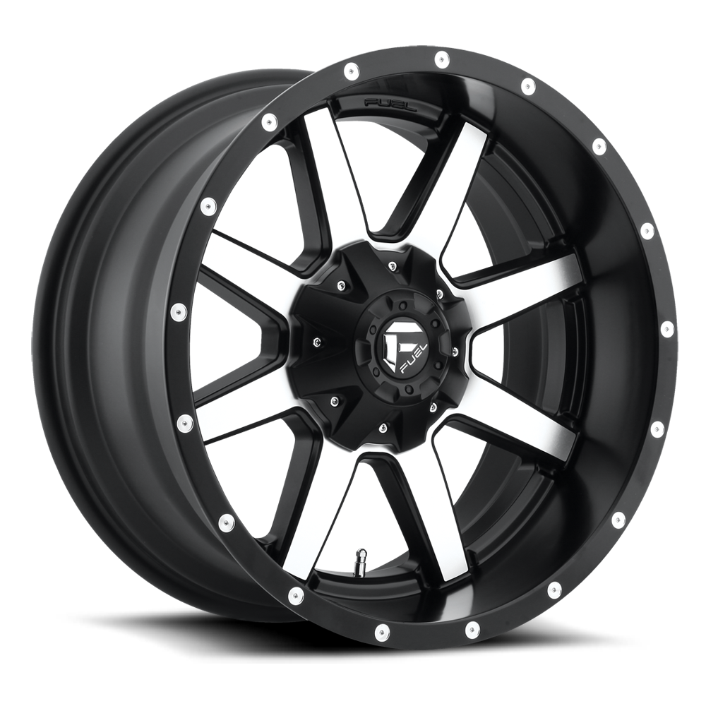 Fuel 1-Piece Wheels Maverick - D537