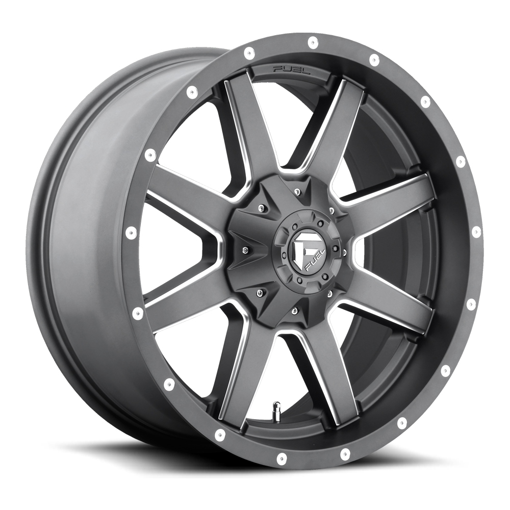 Fuel 1-Piece Wheels Maverick - D542