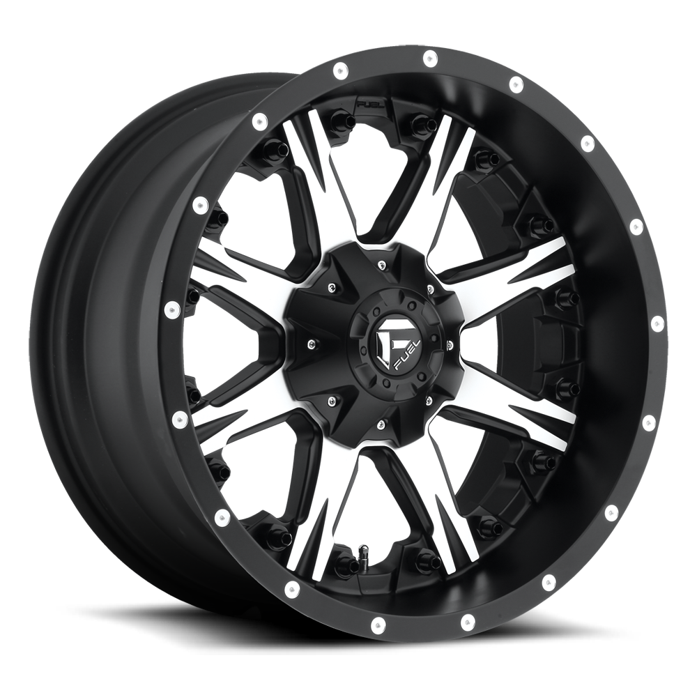 Fuel 1-Piece Wheels Nutz - D541