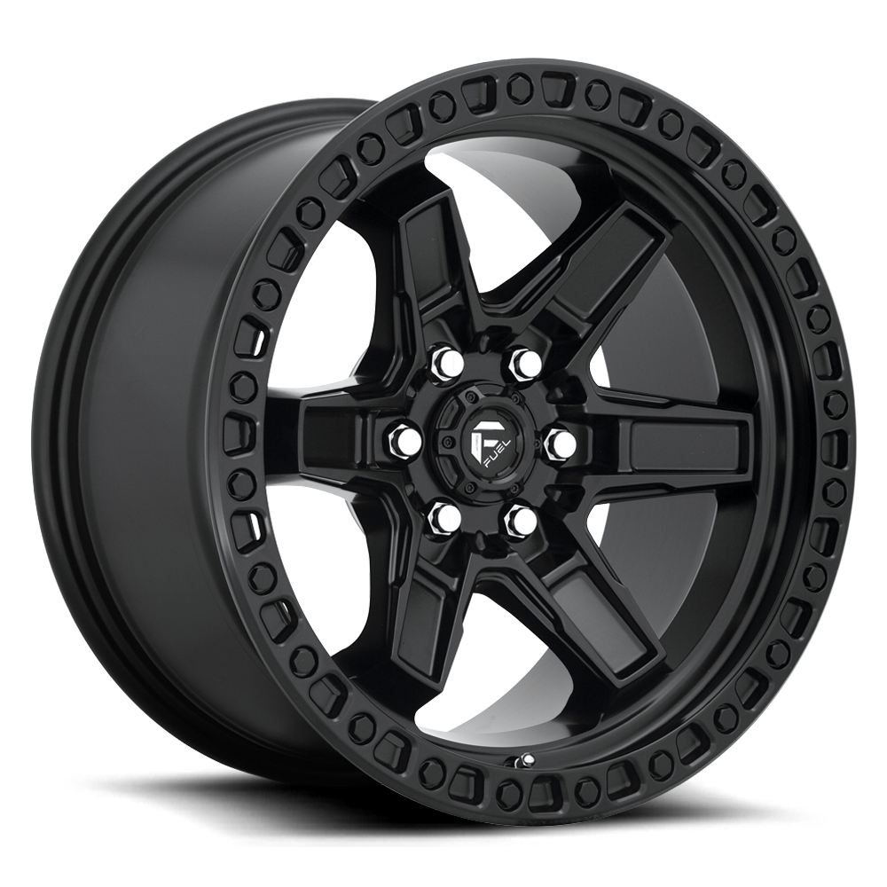 Fuel 1-Piece Wheels Kicker 6 - D697