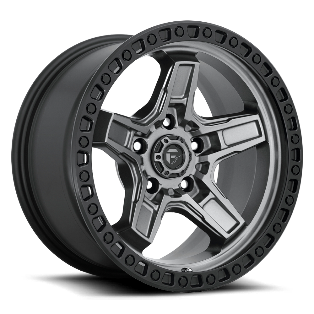 Fuel 1-Piece Wheels Kicker 5 - D698