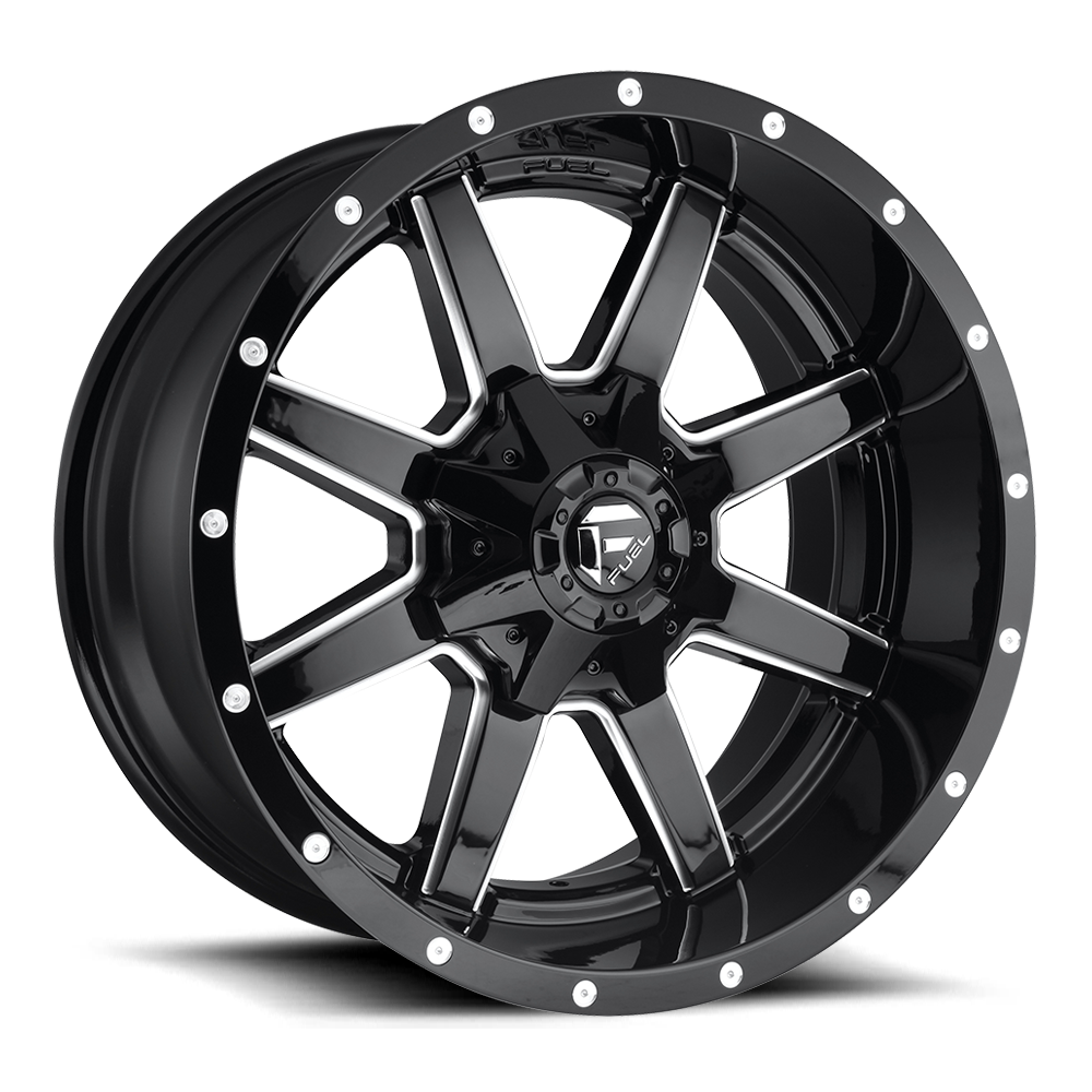 Fuel 1-Piece Wheels Maverick - D610