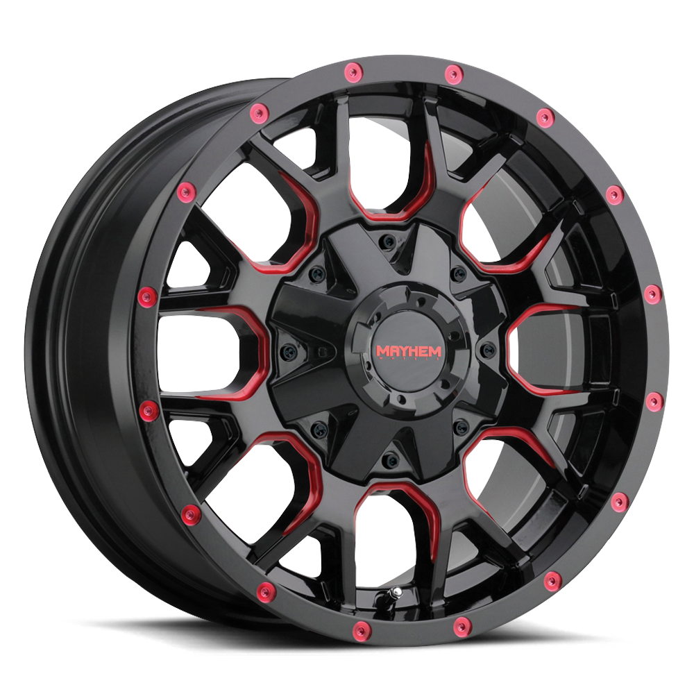 Mayhem Wheels 8015 Warrior