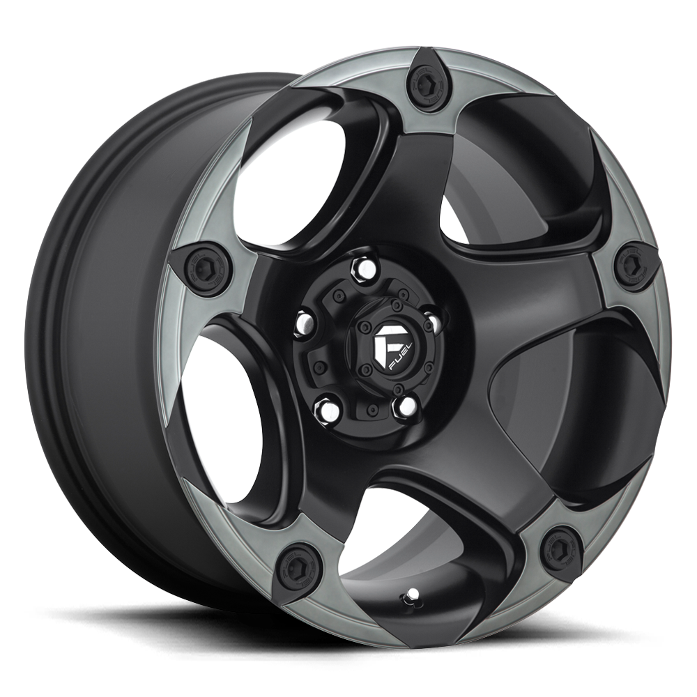 Fuel 1-Piece Wheels Menace - D685