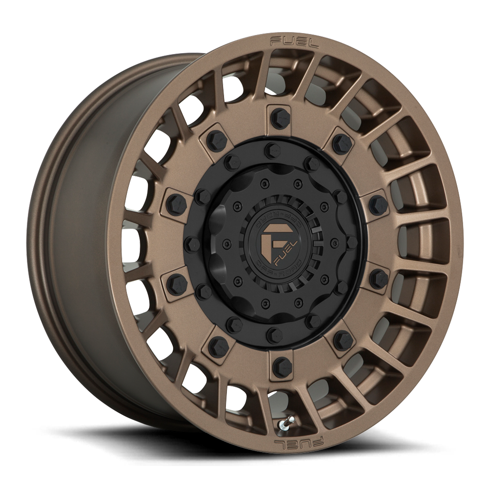 Fuel 1-Piece Wheels Militia - D725