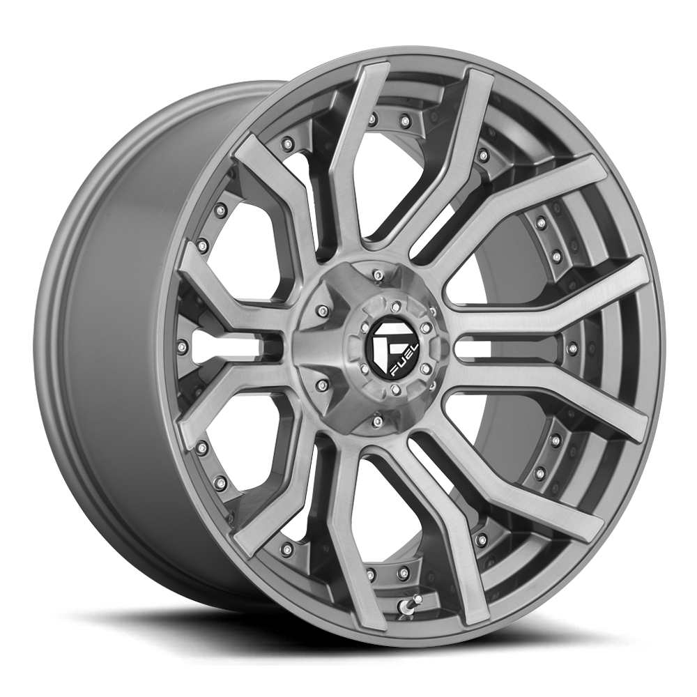 Fuel 1-Piece Wheels Rage - D713