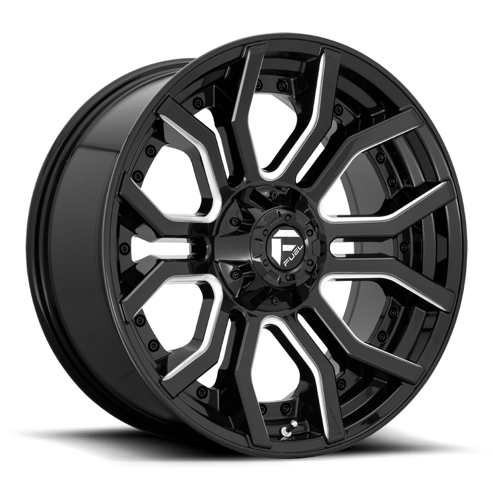 Fuel 1-Piece Wheels Rage - D711