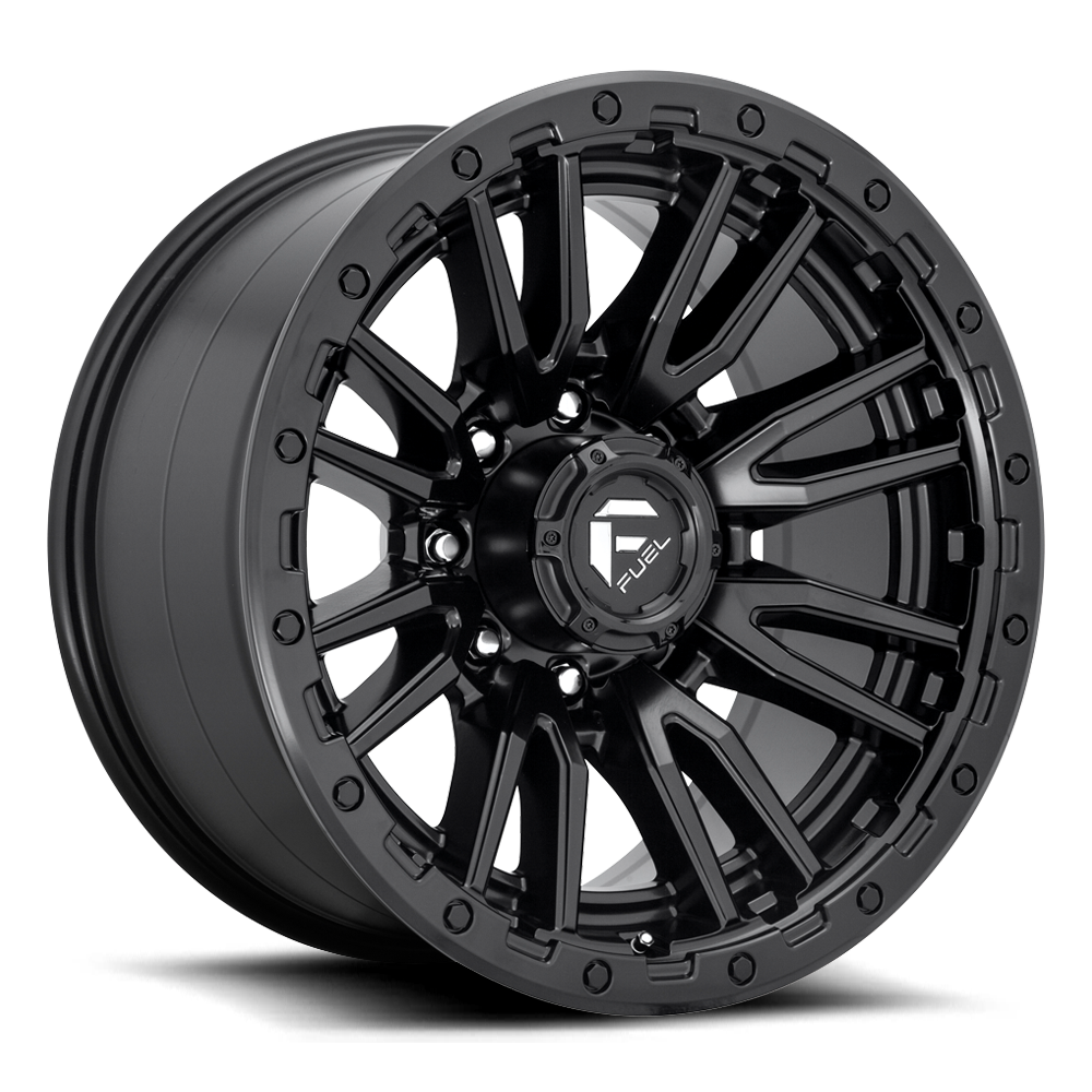 Fuel 1-Piece Wheels Rebel 8 - D679
