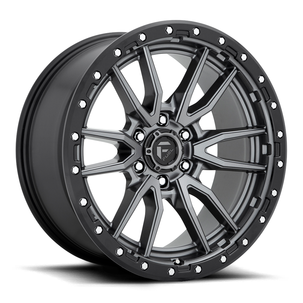 Fuel 1-Piece Wheels Rebel 6 - D680