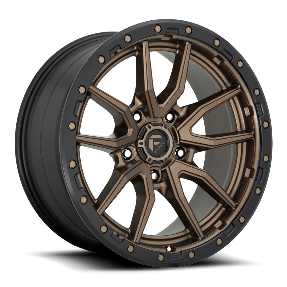 Fuel 1-Piece Wheels Rebel 5 - D681