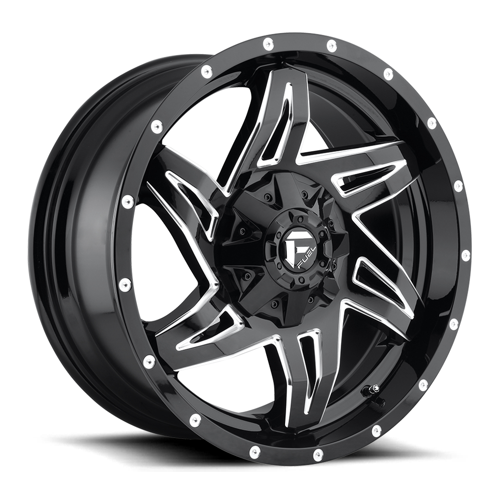 Fuel 1-Piece Wheels Rocker - D613