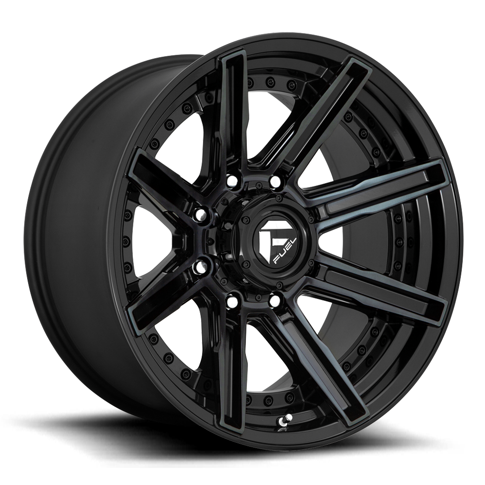 Fuel 1-Piece Wheels Rogue - D708