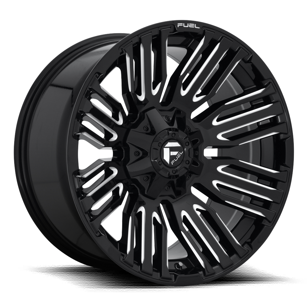 Fuel 1-Piece Wheels Schism - D649
