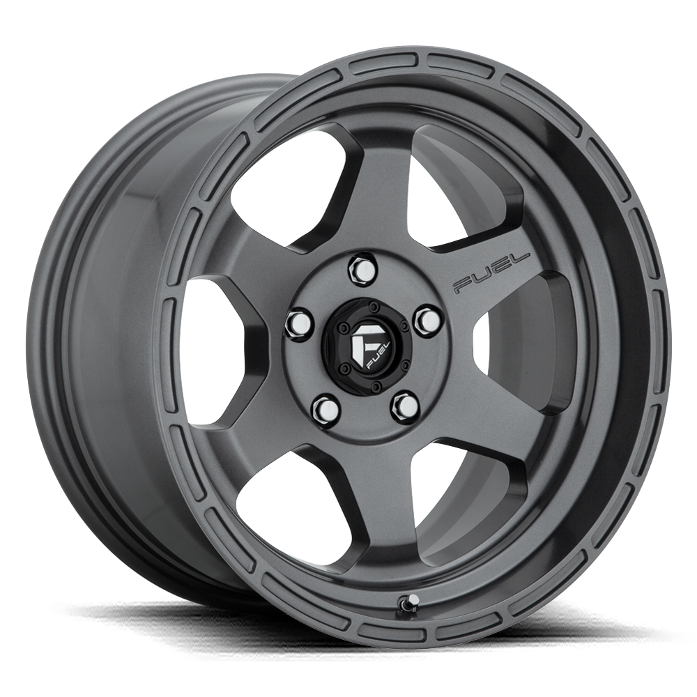 Fuel 1-Piece Wheels Shok - D665