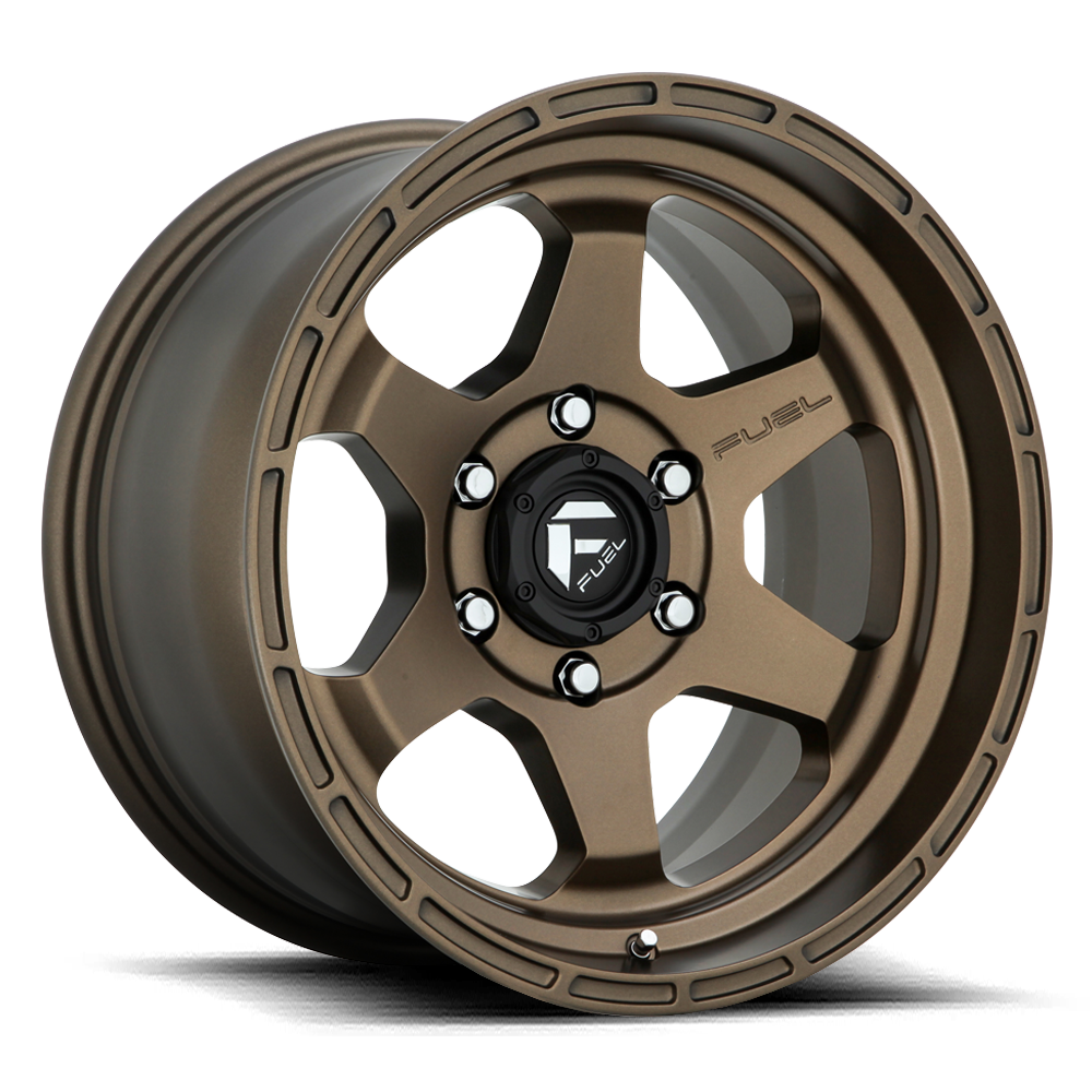 Fuel 1-Piece Wheels Shok - D666