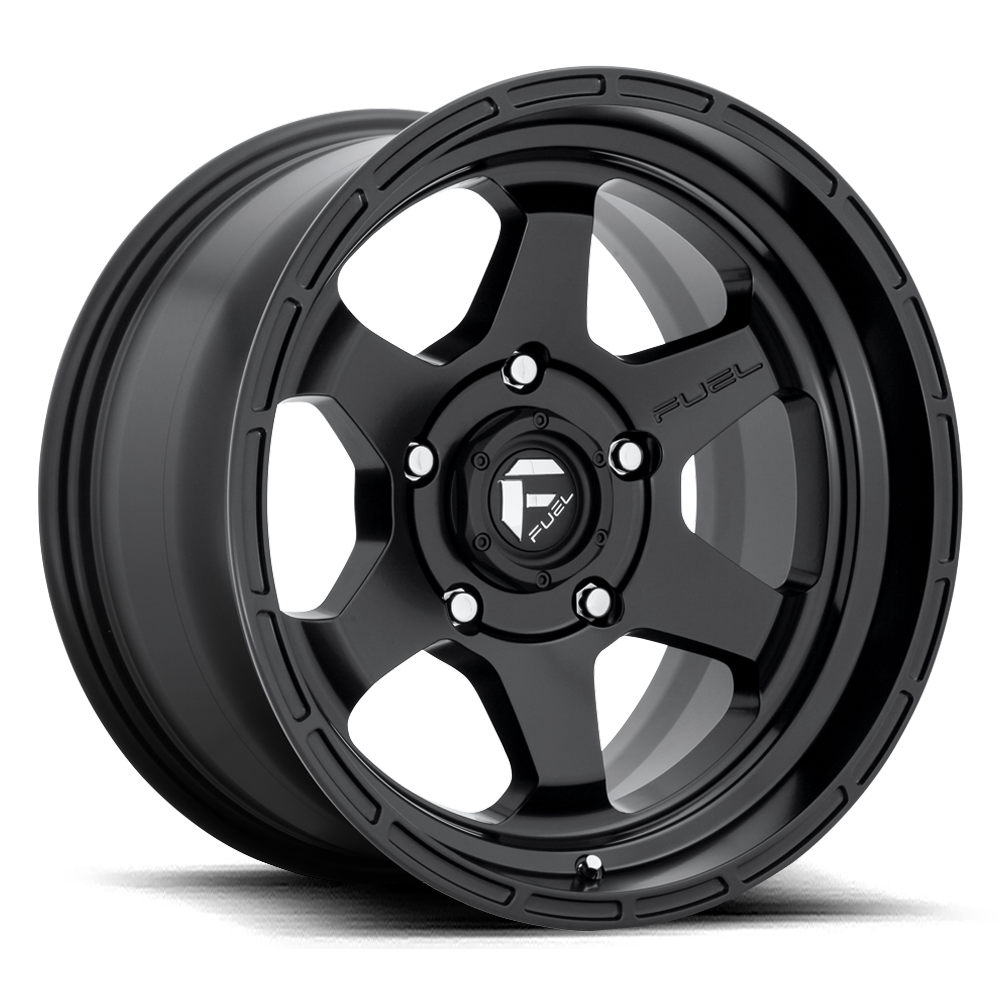 Fuel 1-Piece Wheels Shok - D664