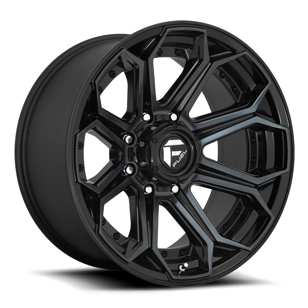 Fuel 1-Piece Wheels Siege - D704