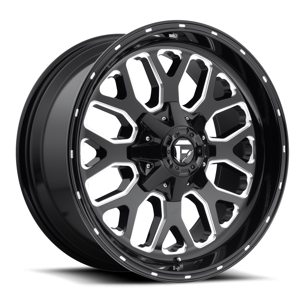 Fuel 1-Piece Wheels Titan - D588