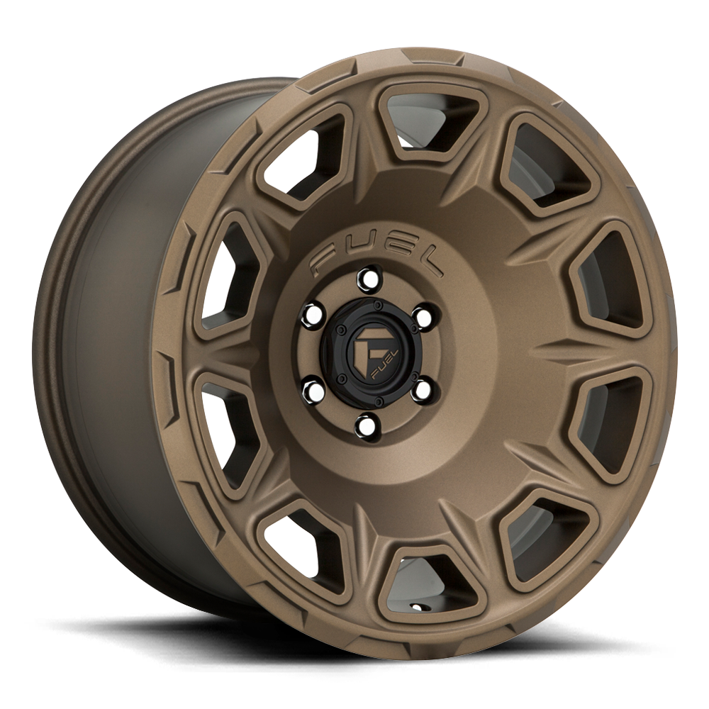 Fuel 1-Piece Wheels Vengeance - D687