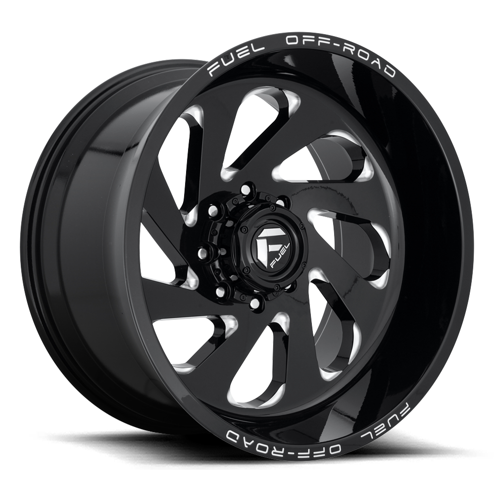 Fuel 1-Piece Wheels Vortex - D637