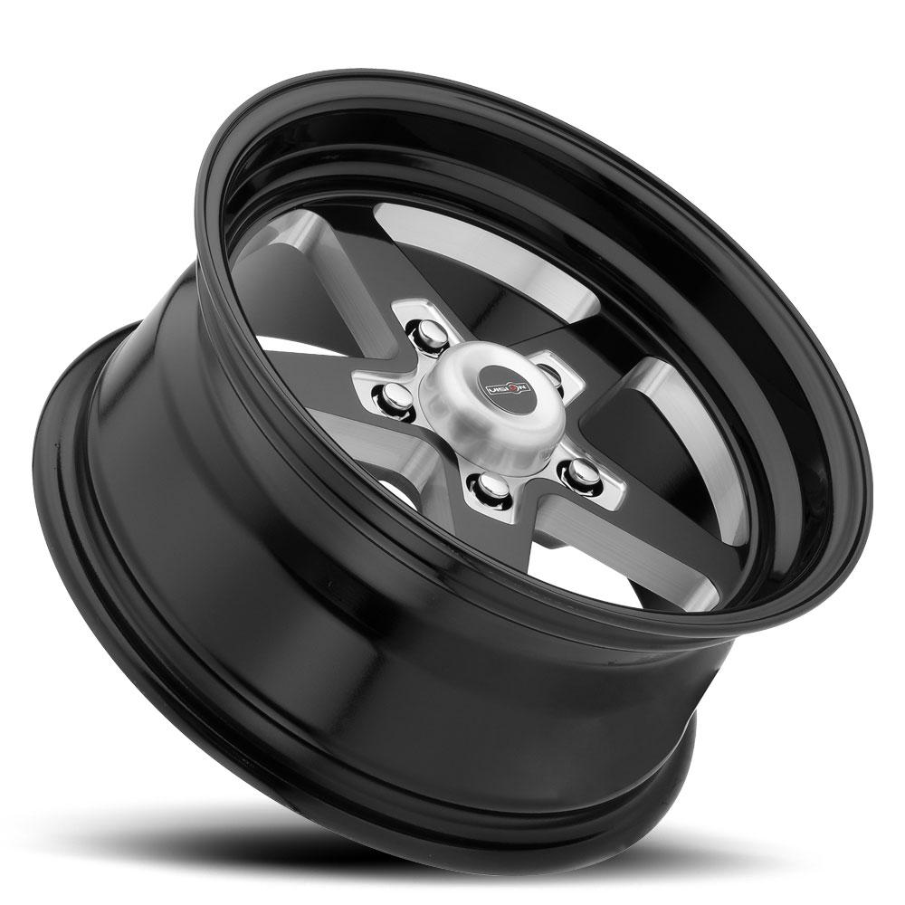 "25mm Polished Wheel Rim 15/"" Inch Vision 571 Sport Star 15x10 5x4.75/"""