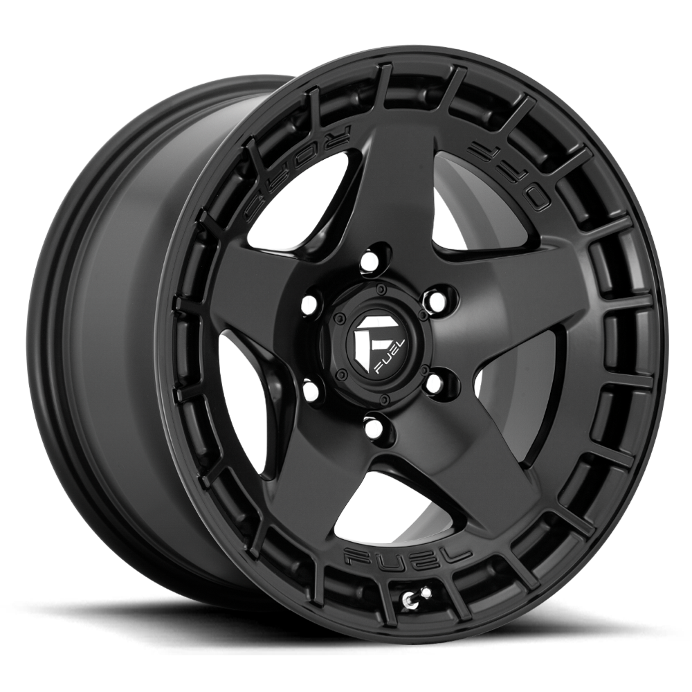 Fuel 1-Piece Wheels Warp - D733